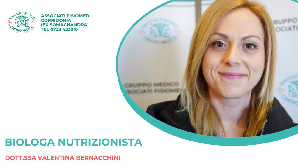 DOTT.SSA BERNACCHINI NUTRIZIONISTA FISIOMED CORRIDONIA