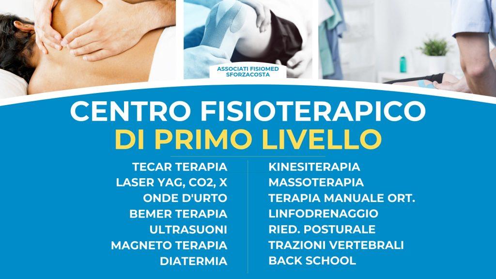 fisioterapia fisiomed centro fisioterapico sforzacosta corridonia