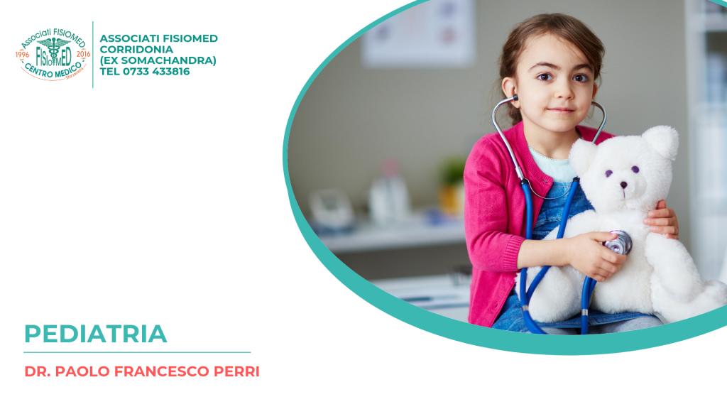 dr. Paolo Francesco Perri pediatra presso Fisiomed corridonia sforzacosta tolentino