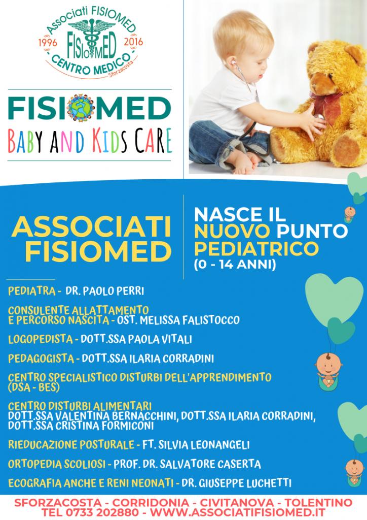 pediatria e punto pediatrico fisiomed