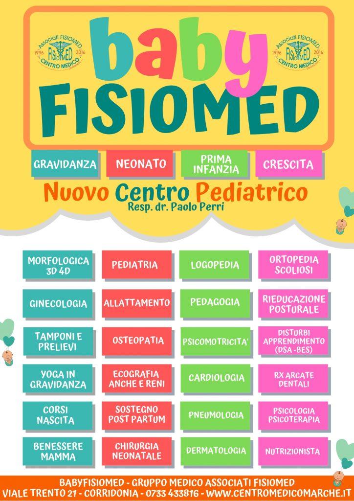 baby fisiomed centro pediatrico dr. paolo perri fisiomed corridonia sforzacosta
